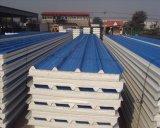 El panel de emparedado de la PU 950/1150 del EPS con una mejor calidad para la azotea