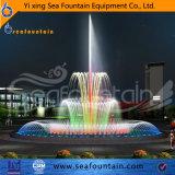 Tipo clásico decorativo ligero fuente de la combinación del estilo del LED de la música