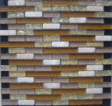 Mosaico del vidrio y de la piedra (VMS8140, 300X300m m)