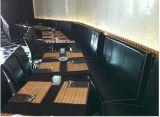 (SD-4003)家具木ブースのソファーを食事する現代ホテルのレストラン