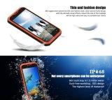 """Vphone元の第1のM3携帯電話5.0 """" HD Mtk6735のクォードのコア2g RAM 16g ROM IP68は携帯電話3300mAh 4G Lteのスマートな電話オレンジを防水する"""