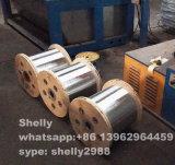 0.51mm electrogalvanizou o fio de aço para a fibra