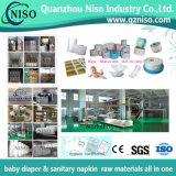 Fournisseur professionnel de matières premières de couche-culotte en Chine avec GV (AZ-026)