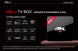 PRO Octa cadre de l'androïde 6.0 TV d'Amlogic S912 2g 16g de faisceau de H96 avec le cadre androïde duel du WiFi 2.4GHz/5.8GHz Kodi 17.0 4k TV