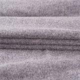 Elasticità tessuto di nylon/delle lane buona nel Gray profondo