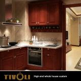 Kundenspezifische hölzerne Küche-Schrank-Ausgangsmöbel Tivo-041VW