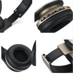 La micro fessura per carta 4 di deviazione standard di FM MP3 in 1 cuffia avricolare stereo W/Mic di Digitahi Bluetooth EDR delle cuffie senza fili di Bluetooth mette in mostra le cuffie di gioco per i telefoni astuti