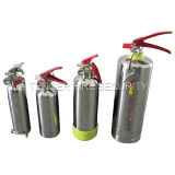 2kg ABC Powder/2L Watrer/2L Afffの火の消火器ステンレス製の鋼鉄シリンダー