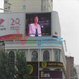 Publicidad de la pantalla de visualización al aire libre a todo color de LED P10