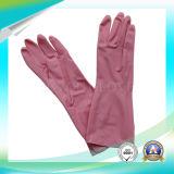 Guantes protectores de trabajo de látex negro impermeable con SGS aprobado