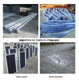 Alumbrado público solar del material LED de la carrocería de la lámpara de la aleación de aluminio