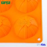 Laço de borboleta da aprovaçã0 de FDA/LFGB dado forma em volta do molde do bolo do silicone