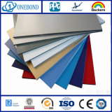 Lo SGS della Cina ha certificato i comitati compositi di alluminio ricoperti PE
