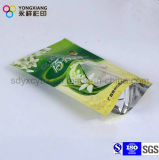 Nahrungsmittelgrad-Folie gezeichneter Imbiss-Verpacken- der LebensmittelFastfood- Beutel mit Reißverschluss