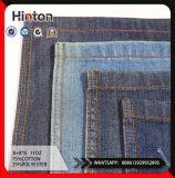 Tessuto blu scuro 11oz del denim del poliestere del cotone della saia dello SGS 8s