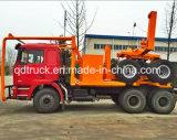 ログの材木のトラック、ログの輸送のトラック、ログのキャリアのトラック