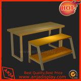 Tabelle di legno della visualizzazione per i negozi