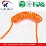 Orange de tube d'unité centrale de polyuréthane de ressort