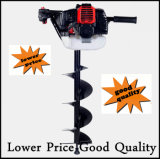 52cc Petrol Earth Auger 3HP Post Hole Borer Ground Drill con 3 Bits + Extension Earth Auger