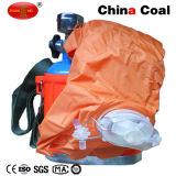 Autosauveteur à oxygène comprimé indépendant portatif pour la mine de houille