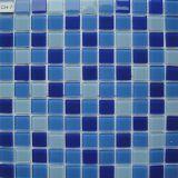 Свет - голубые плитки мозаики кристаллический стекла для плавательного бассеина детей