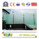 l'acido di vetro del vetro temperato della mobilia della stanza da bagno di 2-19mm del portello di finestra di vetro della Tabella di vetro di vetro di vetro ha inciso il vetro glassato di vetro
