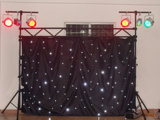 Wedding, Events, Theatre Backdrop를 위한 RGBW 4X 6m LED Star Cloth