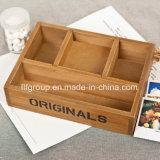 Casella di legno poco costosa personalizzata ecologica di Paulownia per memoria del vino