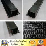 Conduttura d'acciaio temprata nera a basso tenore di carbonio della finestra di Q195 Ltz