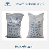 Cenere di soda densa e 99.2%Min chiaro usato per arte vetraria