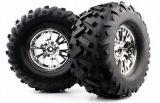 1/8 pneu de camion de monstre (Mechanix/V-Bloque) (WC1044)