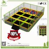 Handelstrampoline-Park-Federelement-große Kind-Innentrampoline für Verkauf