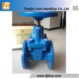 Válvula de porta fixa resistente ao ferro Ductile DIN3352 F4