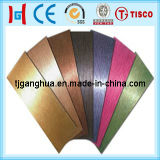 Chapa de aço inoxidável revestida de cobre