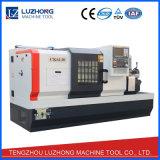 Horizontale Metallflaches Bett CNC-Drehbank mit Bedingungen (CK6140)