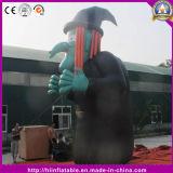 Heiße stehende vorbildliche aufblasbare Hexe für Halloween-Dekoration