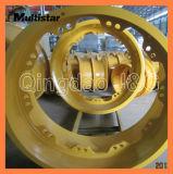 Cerchione d'acciaio per strumentazione resistente, autocarro con cassone ribaltabile, cerchione del caricatore OTR della rotella