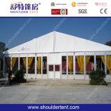 40mの幅の大きい玄関ひさしのテント