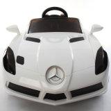 Miúdos carro elétrico de Mercedes-Benz, carro dos miúdos, passeio no carro
