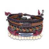 Westliche Punkart-Weinlese-handgemachte Armband-Sets Armbänder