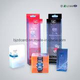 Caixas de dobramento personalizadas do empacotamento plástico do roupa interior