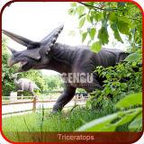 Dinossauro tamanho real de Animatronic do parque de diversões de Gengu