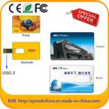 LecteurFlashUSBPromotionneldeBusinessCartedeCréditavecLogoPersonnalisé(EC050)