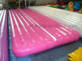 Pista de queda inflável