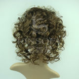 Pelucas superiores del cordón del frente del pelo humano de la Virgen el 100% del grado para Women241732