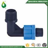 Schwarzes Bewässerung 90 PLASTIKPET passender weiblicher Krümmer