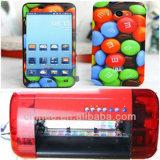 iPhone7/Huawei P9のための機械を作るカスタム携帯電話の箱のステッカー