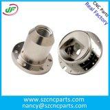 Parti di alluminio di CNC anodizzate colore di titanio su ordinazione, pezzi meccanici di CNC