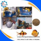젖은 유형 (증기 유형) 물고기 사료 공장 또는 물고기는 작은 펠릿 선반을 공급한다