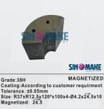 Ímã do motor de NdFeB Magnet/Permanent Tile/Segment Magnet/Magnet VCM/Servo do arco do gerador do ímã/motor/vento